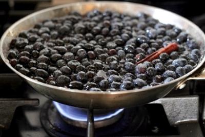 компот из черники рецепт на зиму